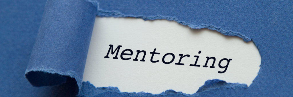 mentoring dla organizacji obrazek dekoracyjny z napisem mentoring